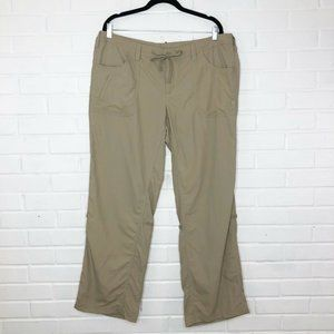 The North Face Relaxed Fit Pants Tan Size 16 Short